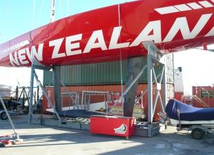New Zealand twin keel
