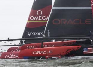 Oracle viaggia forte, e vince una regata